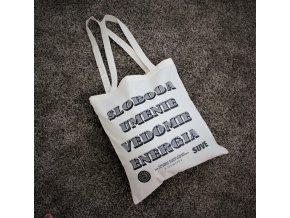 Látková taška - S.U.V.E.