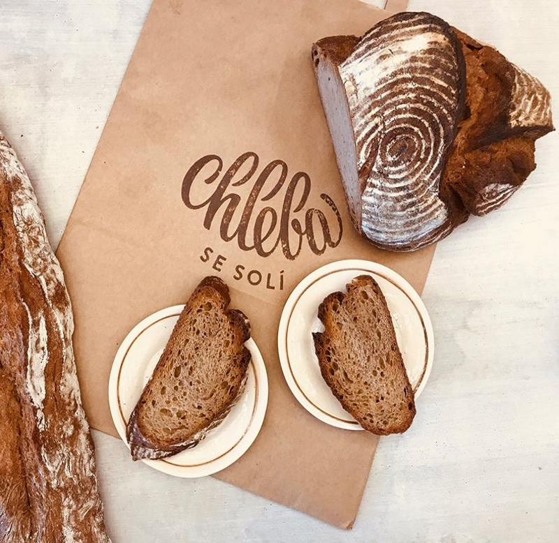 Chleba se solí