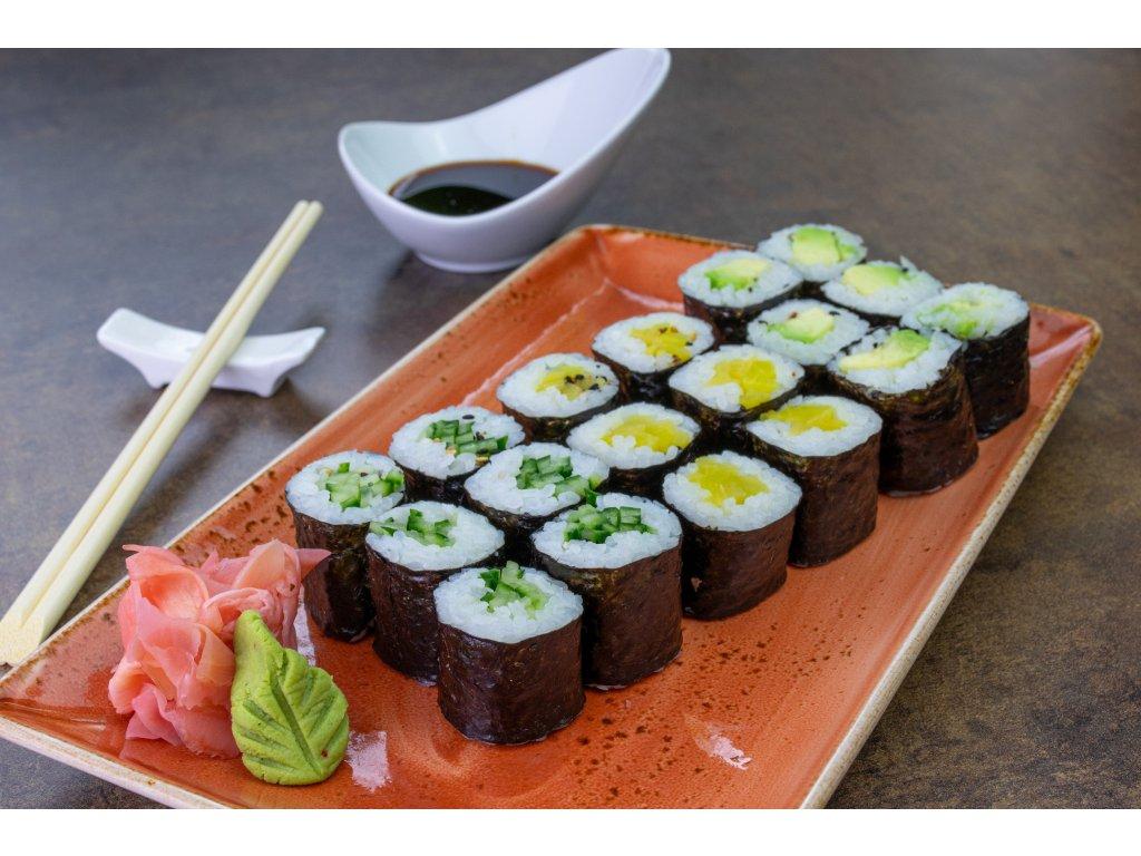 Vegetariánský sushi set