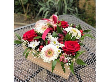 Flowerbox čtvercový velký