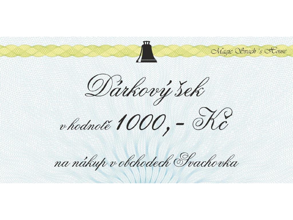 Obchod 1000Kč