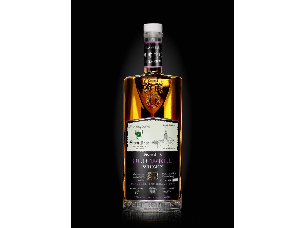 Svach´s Old Well Whisky Green Rose LIMITOVANÁ EDICE