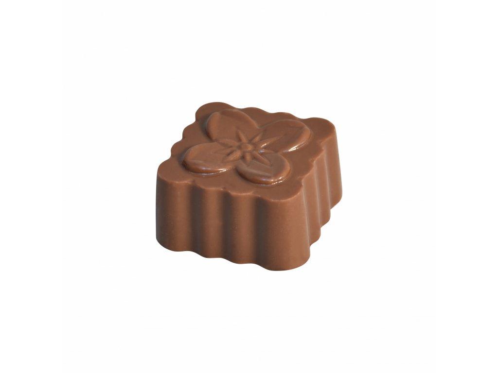 Jahoda v mlecne cokolade