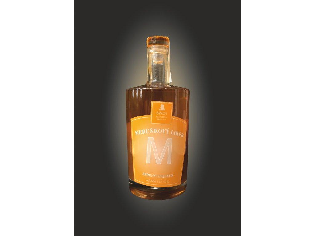 meruňkový likér 20%