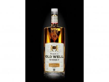 Svach´s Old Well Whisky stařená v silně vypáleném sudu z Bílých Karpat 54,8% alc