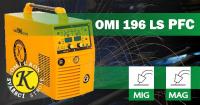 CO2 svářečka Omicron OMI 196LS PFC Synergy Pulz - výhodný SET