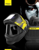 Svářecí samostmívací kukla s filtračně ventilační jednotkou KOWAX FlipARC+ Speed Air