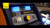 Svářečka na CO2 KOWAX GeniMig 220 Synergy včetně hořáku