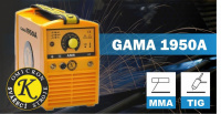 Invertor svářecí Omicron Gama 1950A pro MMA a TIG