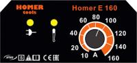 Svářecí invertor Homer E 160 pro MMA - výhodný SET