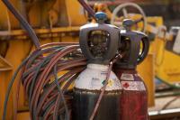 Plynové lahve s svářecími plyny