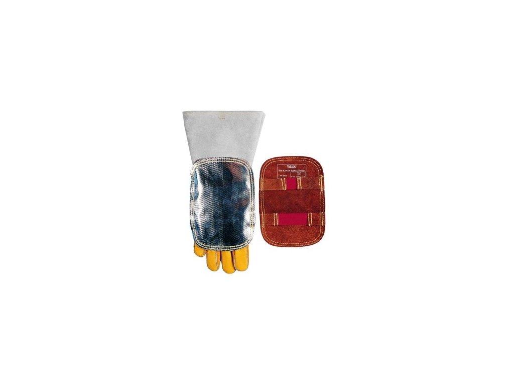 Ochrana ruky svářeče - štít
