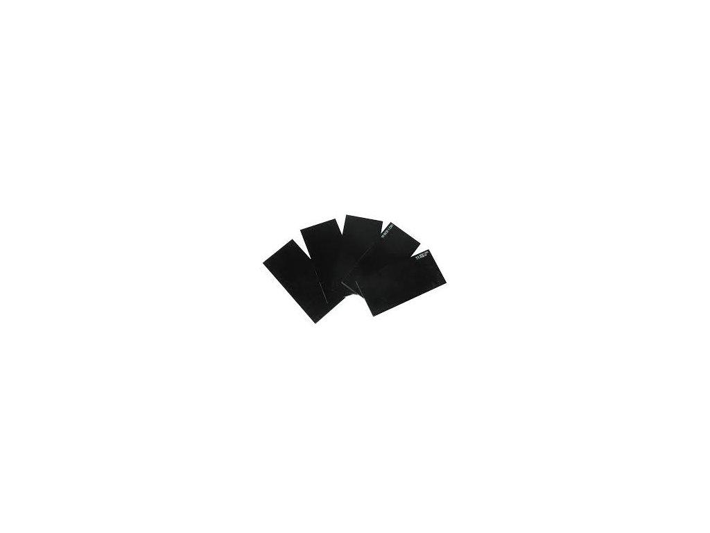 Sklo svářecí 108x51 mm tmavé DIN 11