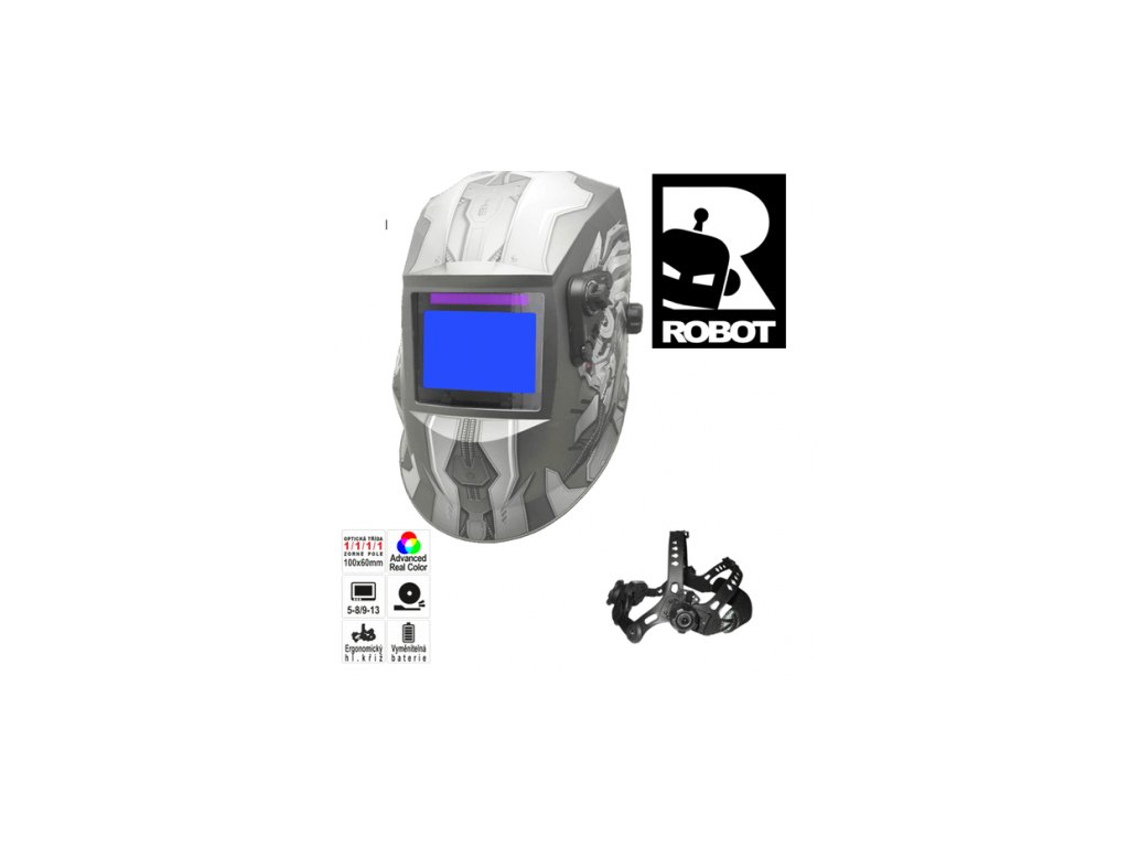 Svářecí kukla stmívací - svářecí Robot