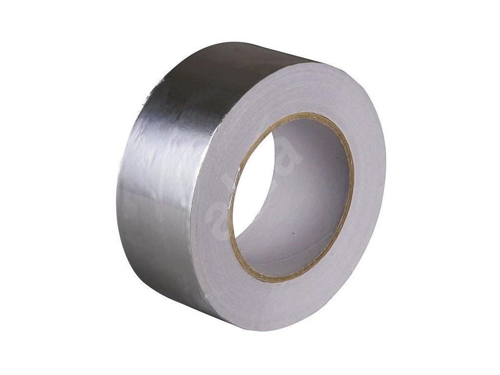 Hliníková lepící páska ALU - teplu odolná hliníková páska