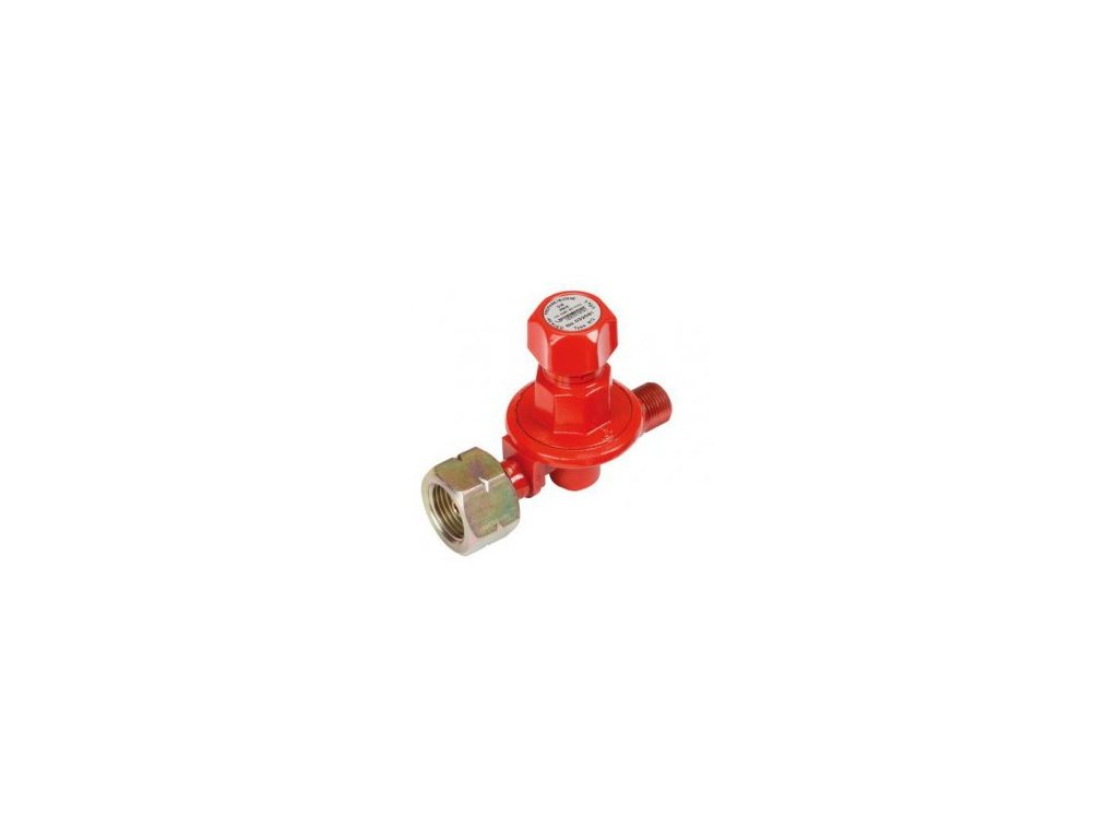 Regulátor tlaku Propan-butan nastavitelný 0,5 - 4 bar + velký průtok