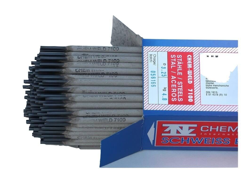 Speciální obalená elektroda na ocel, ocelolitinu, rez, olej či pozink