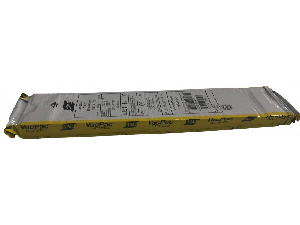 Elektrody NEREZ 63.30 Ǿ 2.0 - 2.5 mm x 300 mm