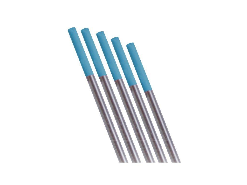 Tyrkysová wolframová elektroda - 1 kus  Ǿ 1,6 mm