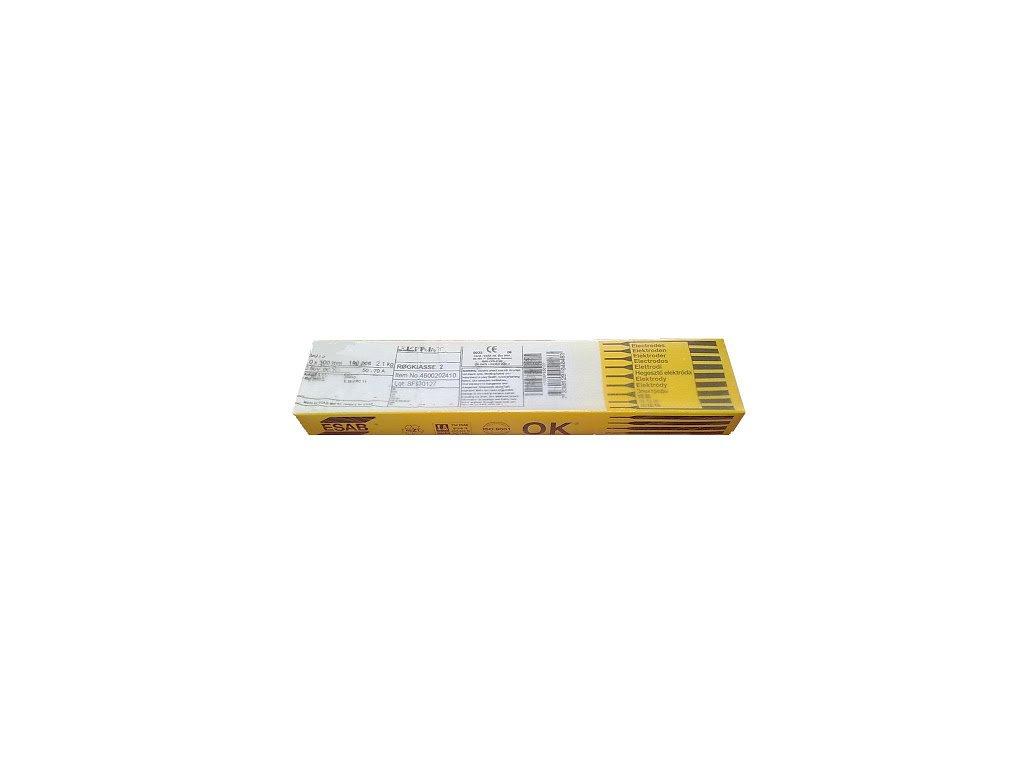 Elektrody rutilové OK 46.00, Ǿ 2.0 - 2.5 mm x 300 - 350 mm ESAB®