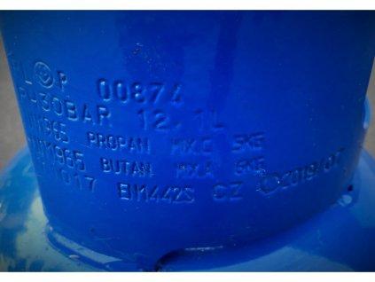 Tlaková láhev na Propan - butan 5 kg