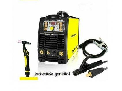 Svářečka GeniTig 200 AC/DC, HF, PULZ, PFC KOWAX pro TIG
