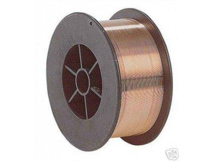 Svařovací drát pro CO2 na ocel SG2, Ǿ 0.6 - 0.8 mm, 1 kg cívka