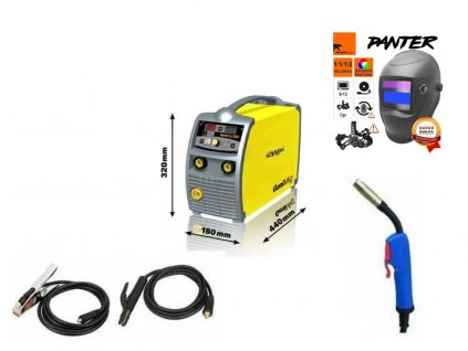 Svářečka na CO2 KOWAX GeniMig 220 Synergy - výhodný SET