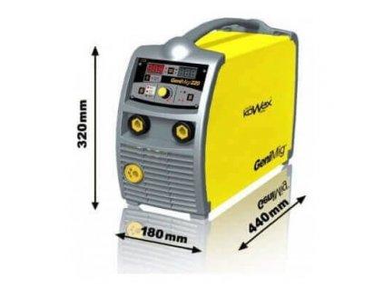 Svářečka na CO2 KOWAX® GemiMig 220 - SET
