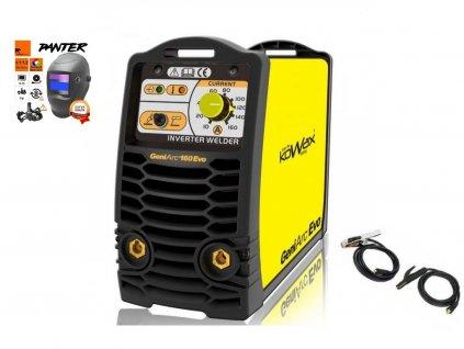 Svářecí invertor KOWAX GeniArc160 Evo - výhodný SET