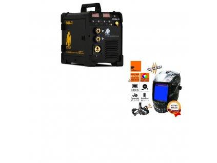 Svářečka Gorilla PocketMig 205 Car Body Synergic - výhodný SET