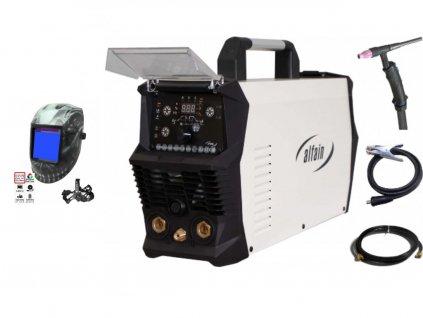 Svářecí invertor Perun 200 AC/DC HF AlfaIn - výhodný SET