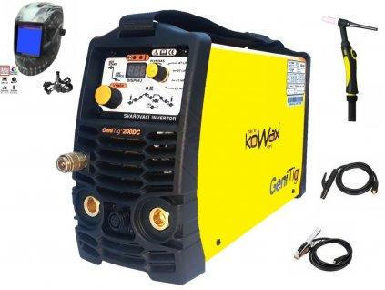 Svářečka GeniTig 200 DC HF, PULZ, KOWAX - výhodný SET