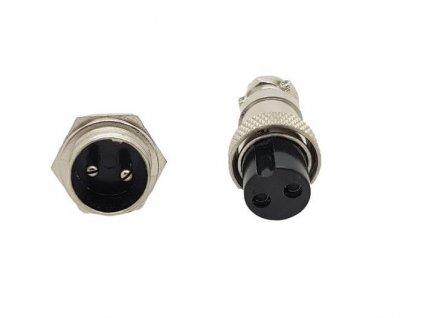 Konektor pro připojení TIG hořáku (2-pin)