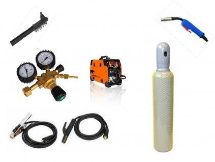 Svářečka na CO2 Pantermax Mig/Mag 220 Synergy včetně hořáku - výhodný SET