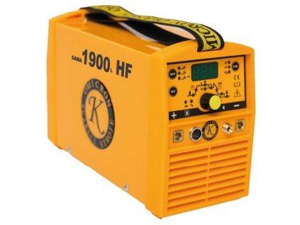Svářečka TIG HF invertorová Omicron Gama 1900L HF Puls