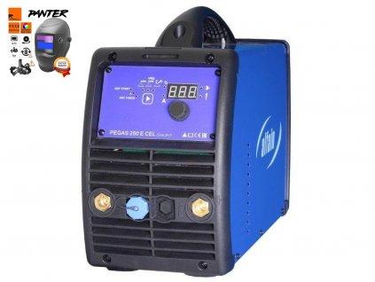 Elektrodová svářečka Pegas 250 E CEL smart - výhodný SET