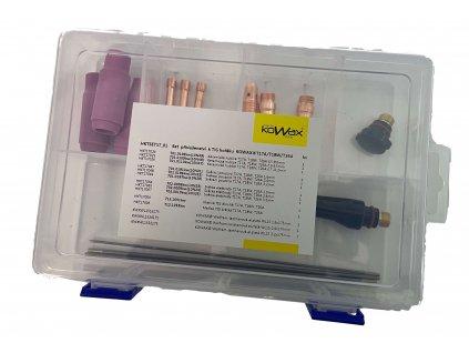 Spotřební díly TIG svářecí hořák T17, T18, T26 - SET