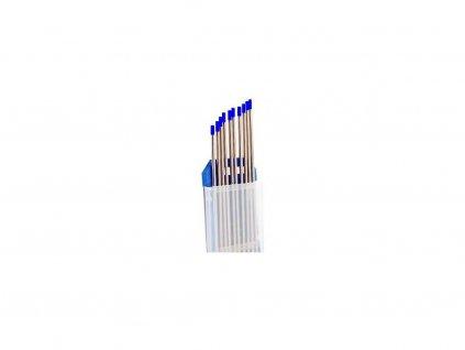 Modrá wolframová elektroda - 1 kus, Ǿ 1,60 - 3,20 mm