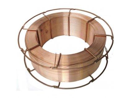 Svařovací drát pro CO2 na ocel G3Si1, Ǿ 0.8 - 1.2 mm, 16 kg cívka