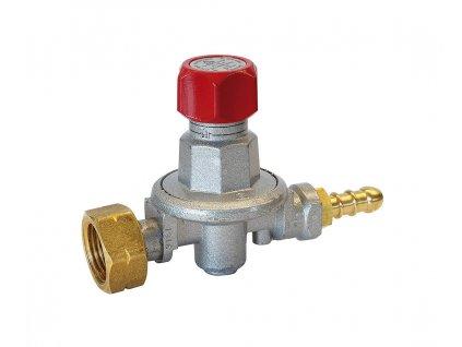 Regulátor tlaku Propan-butan nastavitelný 0,5 - 4 bar + velký průtok až 14 kg