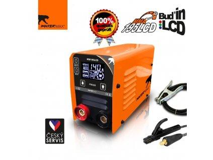Invertorová svářečka PanterMax 195 LCD pro MMA a TIG