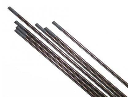 Šedá wolframová elektroda - 1 kus, Ǿ 1,00 - 3,20 mm