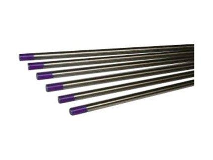 Fialová wolframová elektroda - 1 kus, Ǿ 1,60 - 3,20 mm