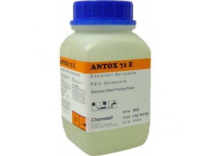 Mořící gel na nerez Antox E 71 Extra 2 kg