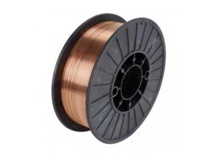 Drát pro CO2 ocel, Ǿ 0.6 - 1.0 mm, 5 kg cívka KOWAX