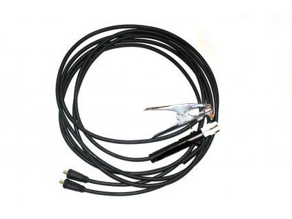 Svářecí kabely 160A, 2x 3m, 10-25
