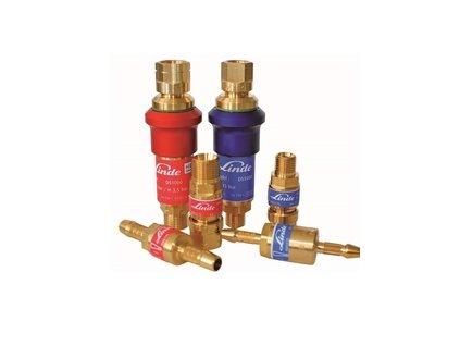 Pojistka proti zpětnému šlehu Kyslík - za redukční ventil