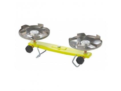Vařič plynový - 2 plotýnky na propan-butan