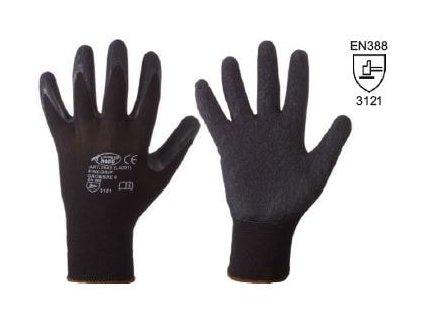 Pracovní pogumované rukavice Finegrip